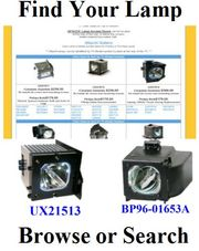 TV Lamps and Bulbs,  Shipping Included